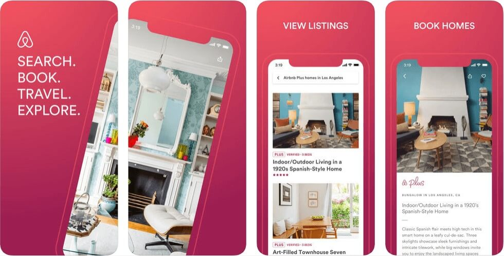 App Store Optimization guide of AirBNB
