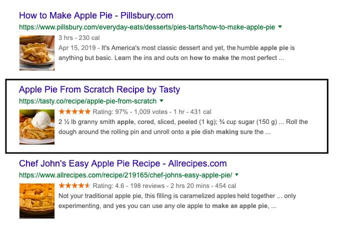 how to rank videos on Youtube apple pie