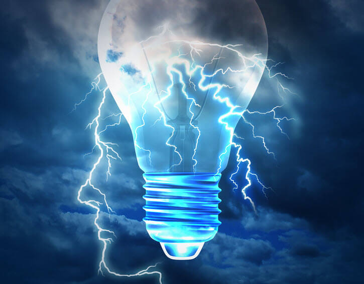 conclusion on google penalties with lightening bulb